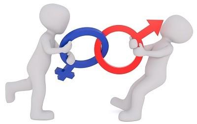 Gegensatz: Mann & Frau
